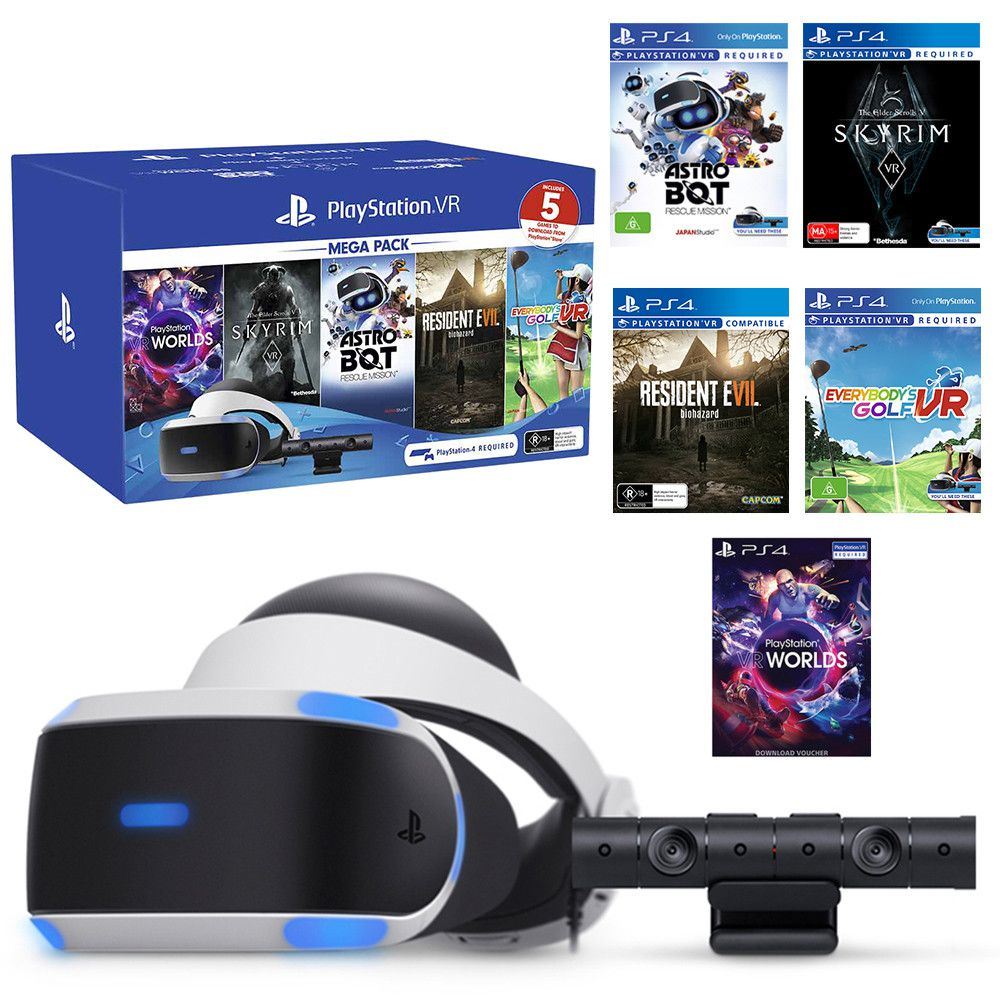 Playstation VR Mega Pack (5 Jogos)  - Playstation 4