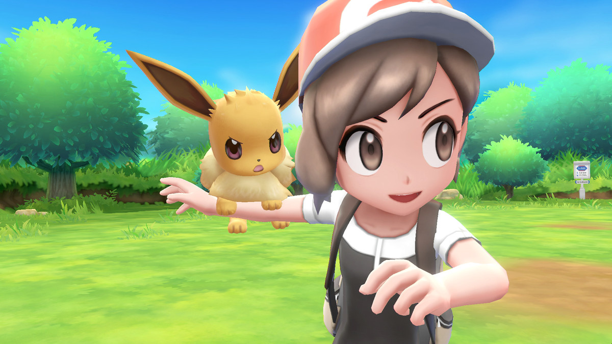 Pokemon Let´s Go Eevee ! - Nintendo Switch