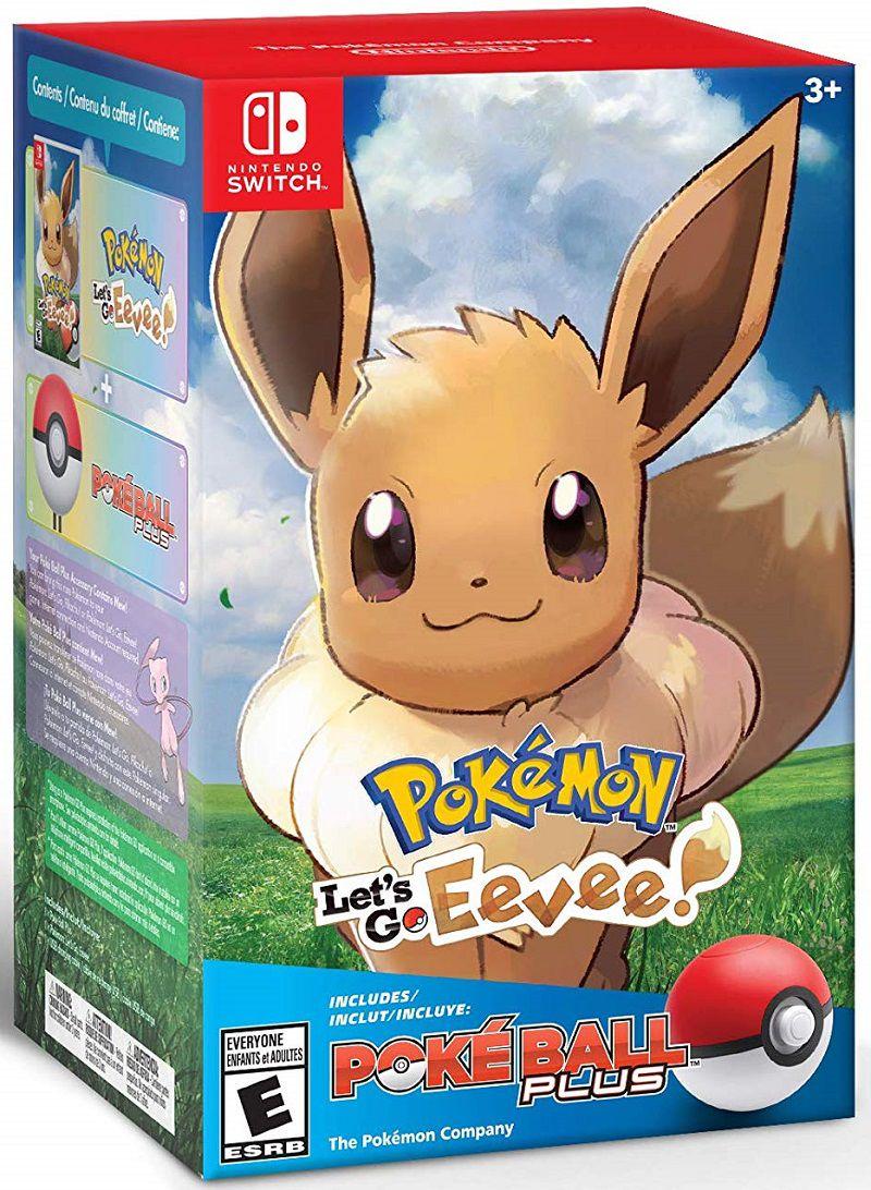 Pokemon Let´s Go Eevee + Pokebola - Nintendo Switch