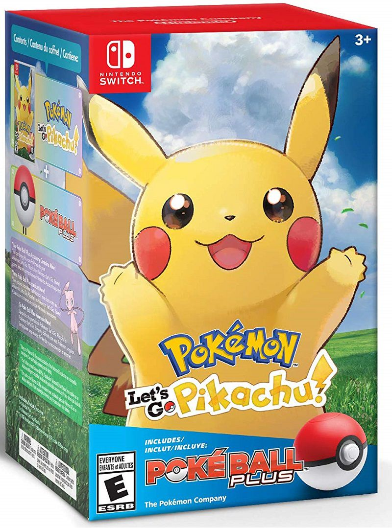 Pokemon Let´s Go Pikachu ! + Pokebola - Nintendo Switch