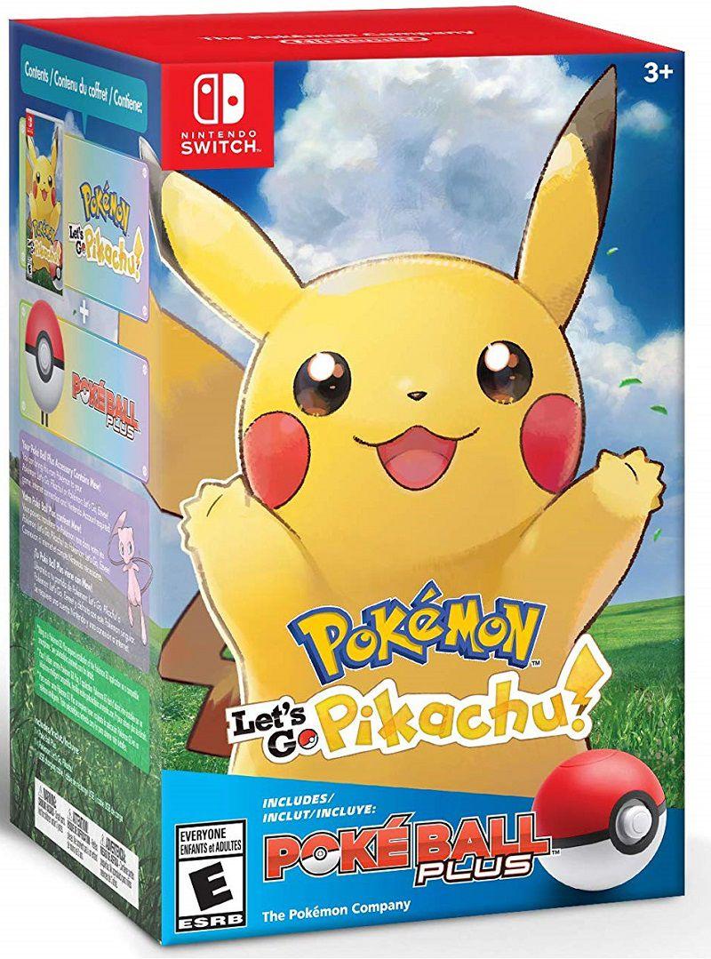 Pokemon Let´s Go Pikachu ! + Pokebola - Nintendo Switch