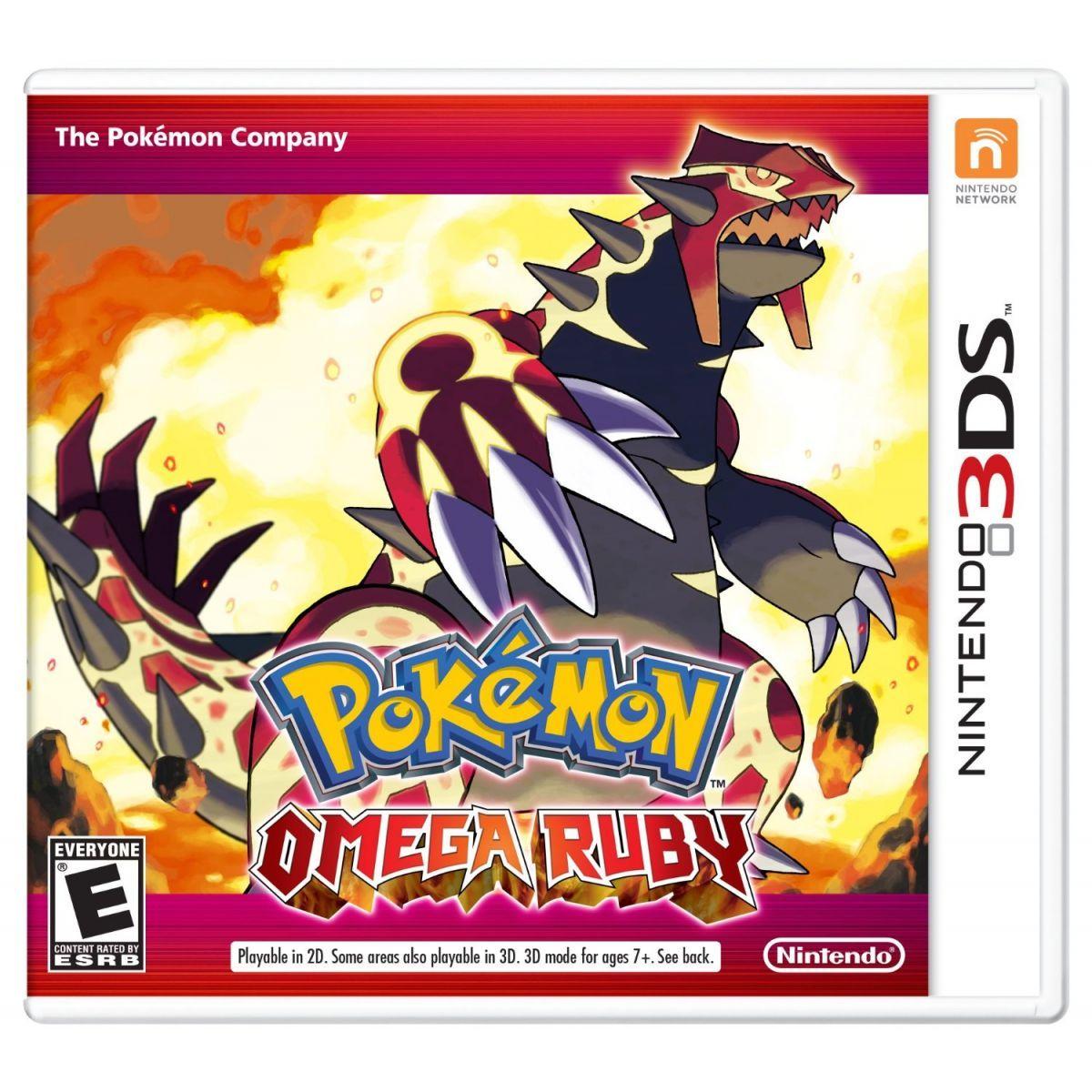 Pokémon Omega Ruby - 3Ds