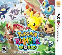 Pokemon Rumble World - 3Ds