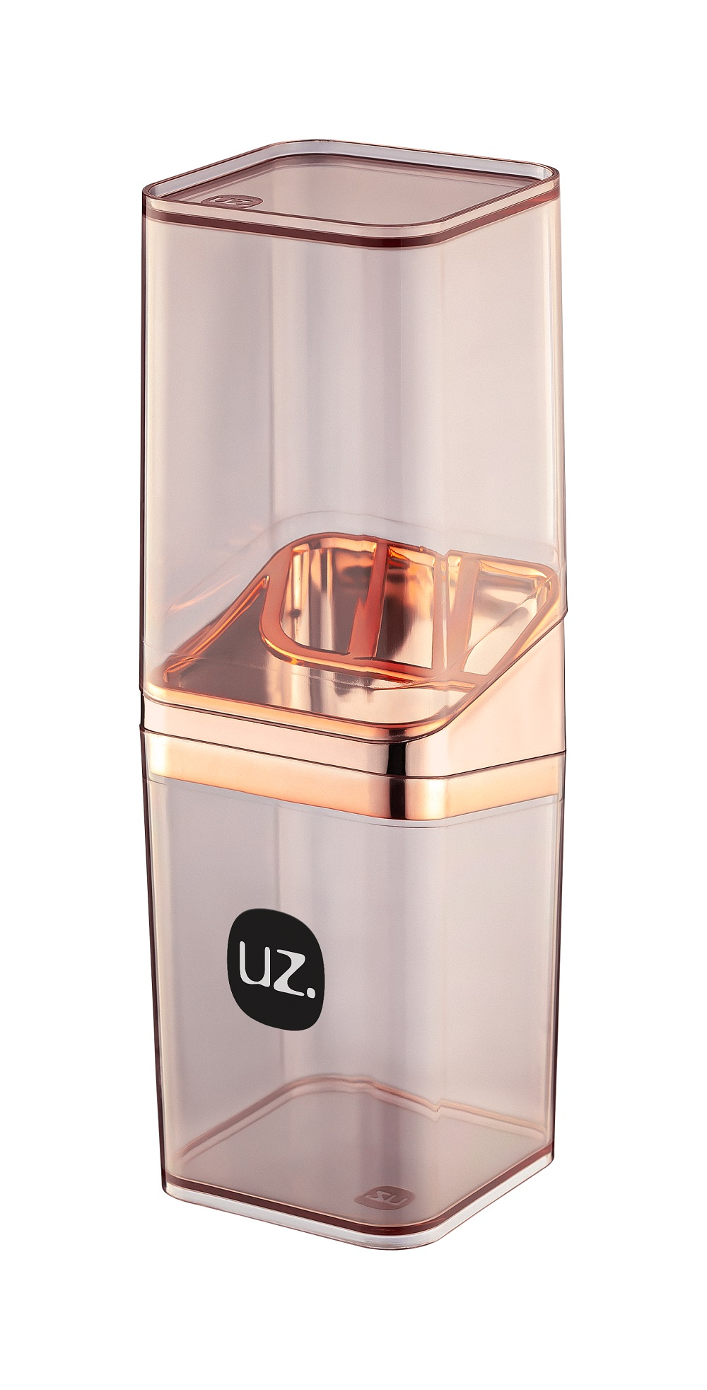 Porta Escova com Tampa Slim Premium de Plástico - UZ