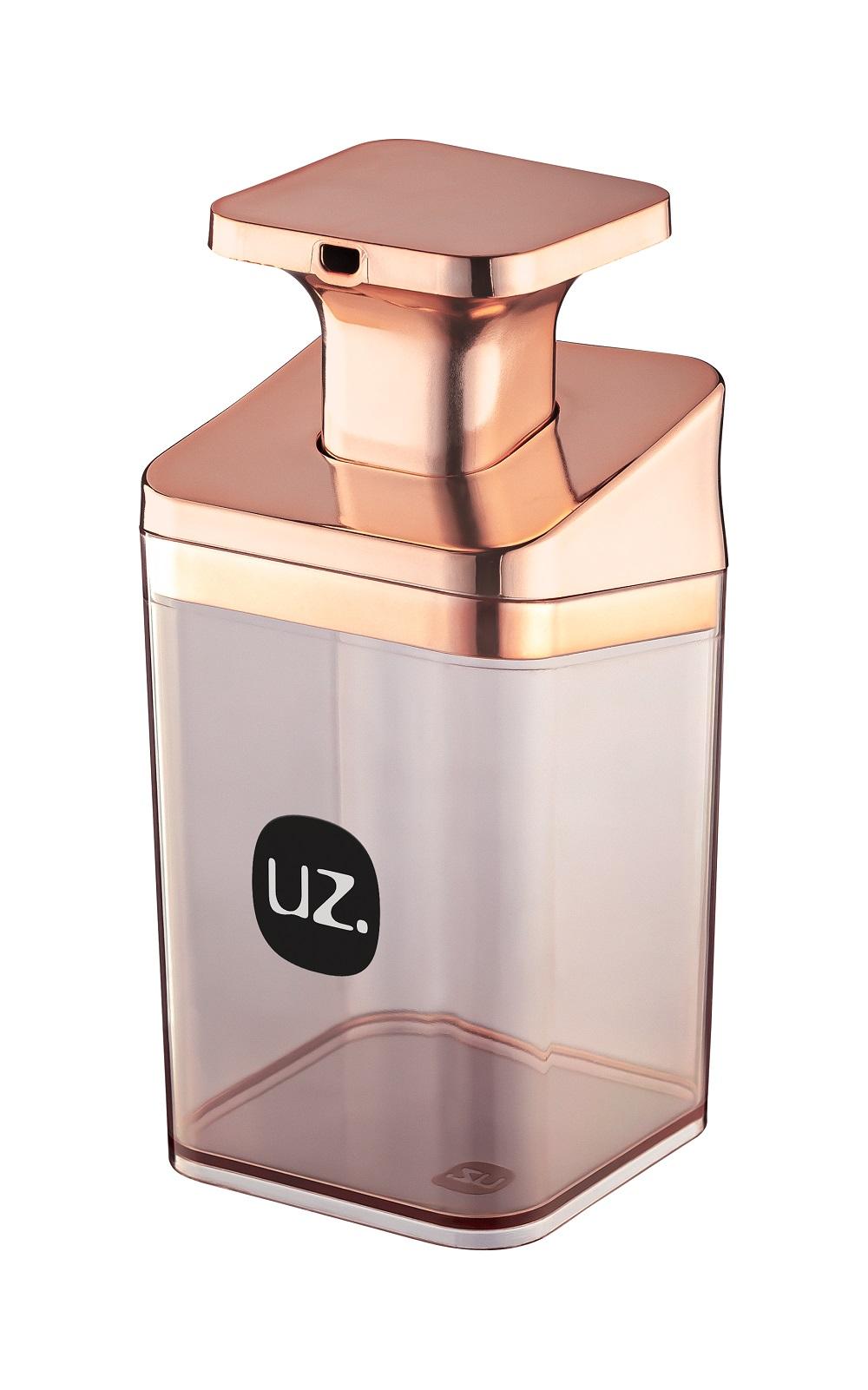 Porta Sabonete Líquido Slim Metalizado de Plástico - UZ