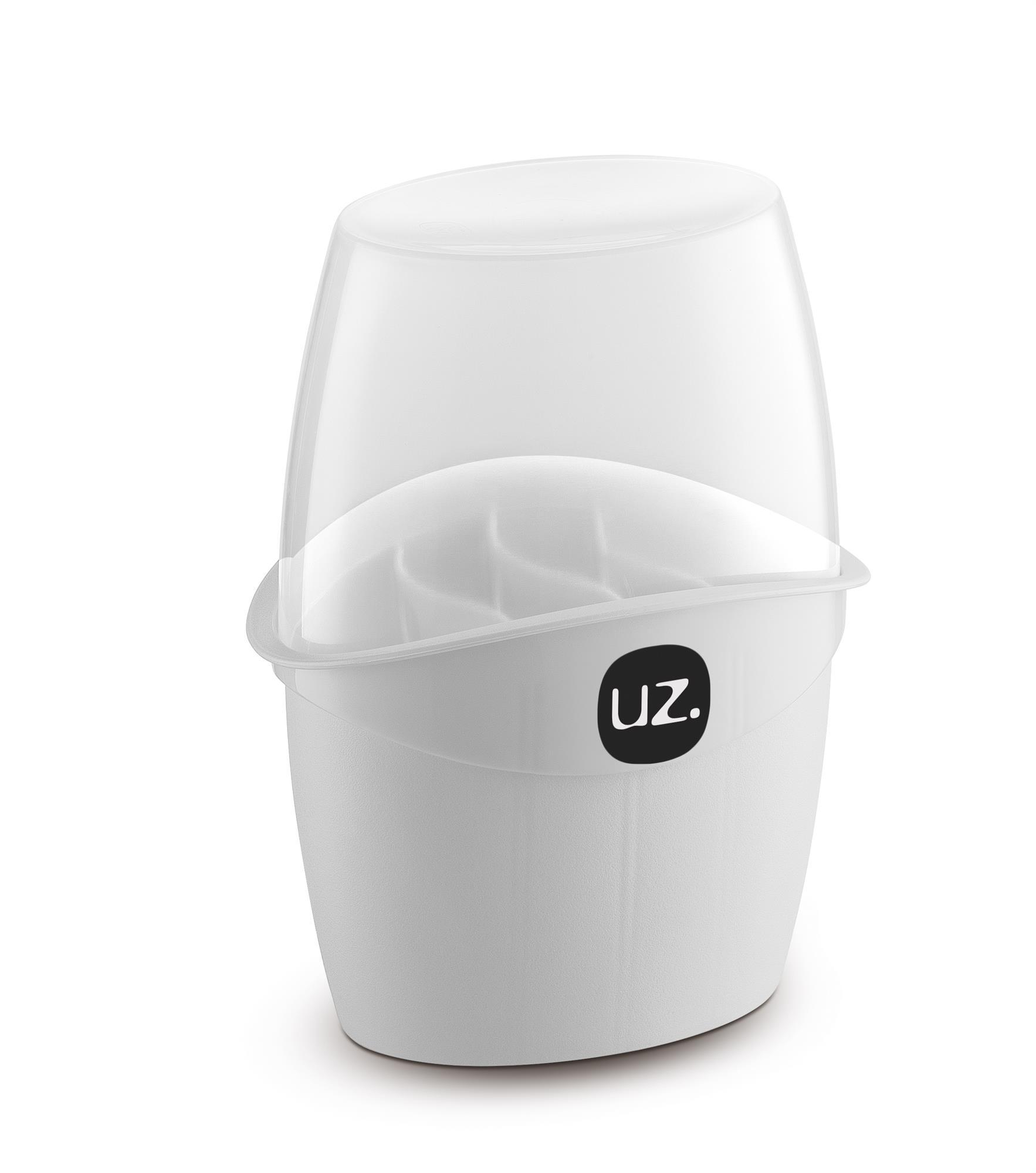 Porta Talheres com Tampa de Plástico - UZ