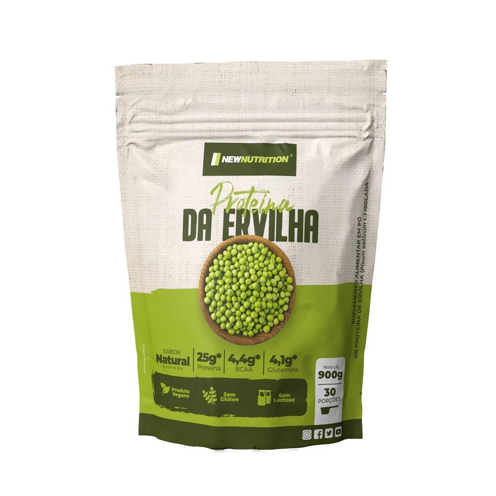 Proteína da Ervilha 900g (Whey Protein Vegano)