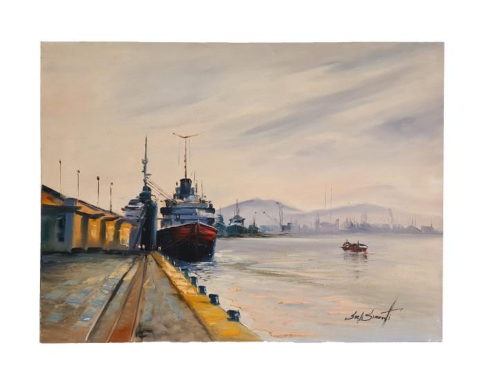 Quadro Pintura a Óleo Porto