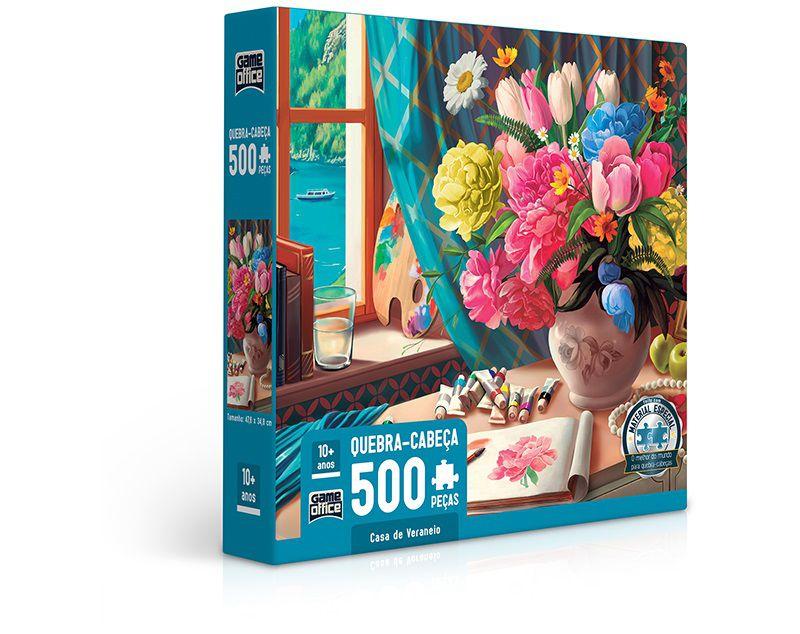 Quebra-cabeça Casa de Veraneio - 500 peças