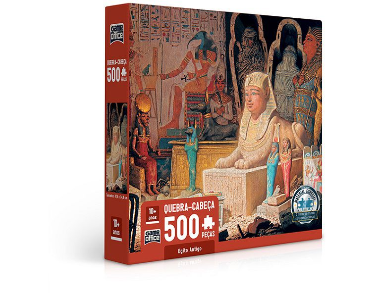 Quebra-cabeça Egito Antigo - 500 peças