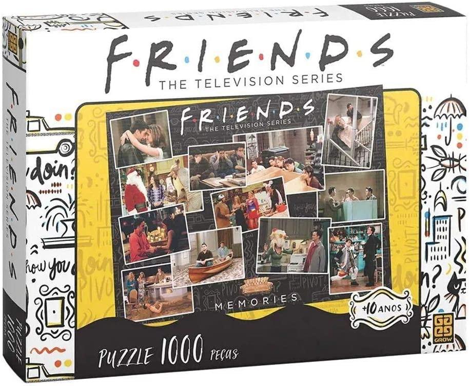 Quebra-cabeça (Puzzle) 1000 peças Friends