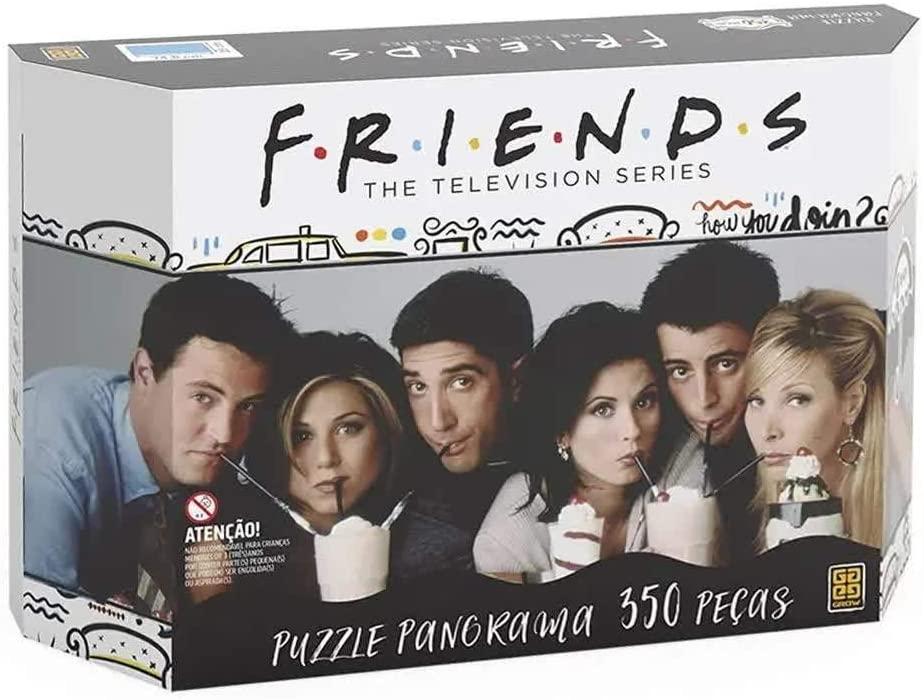 Quebra-cabeça (Puzzle) 350 peças Panorama Friends