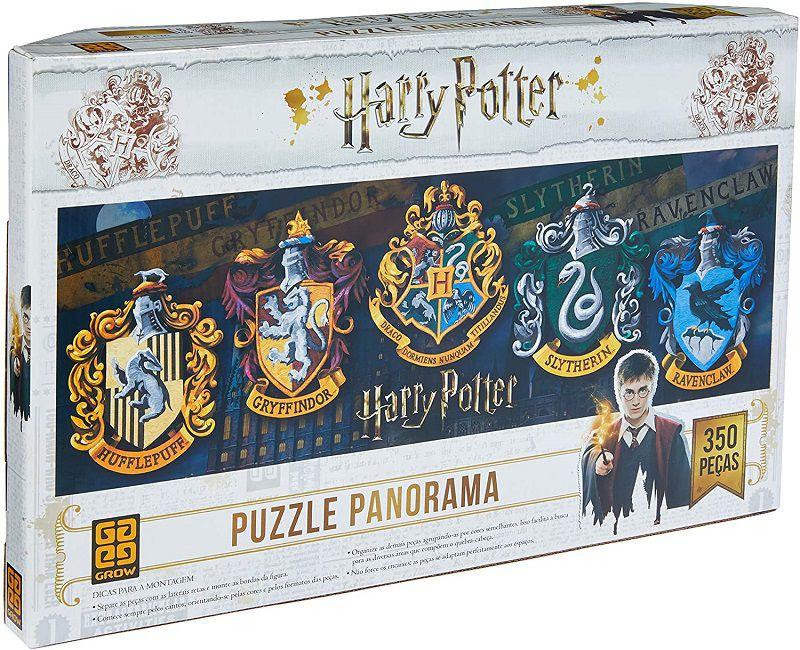 Quebra-cabeça (Puzzle) 350 peças Panorama Harry Potter