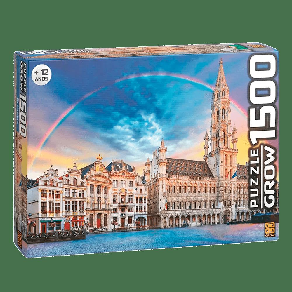 Quebra-cabeça (Puzzle) 1500 peças Bruxelas