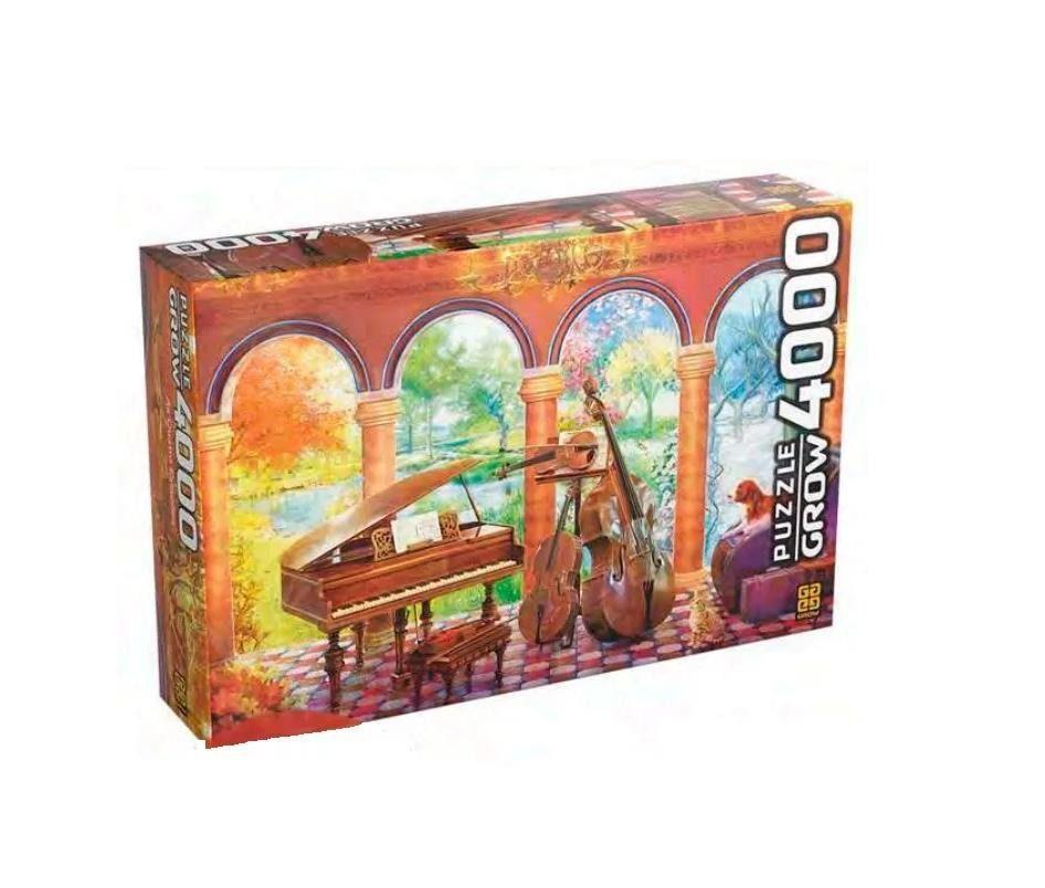 Quebra-cabeça (Puzzle) 4000 peças Vivaldi as Quatro Estações