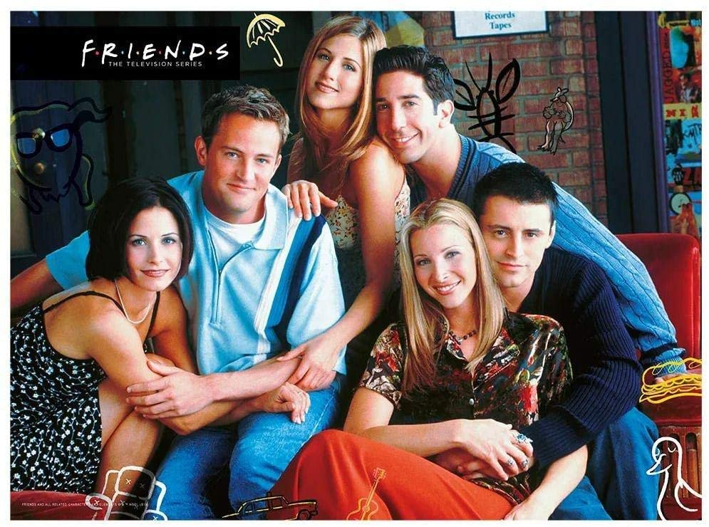 Quebra-cabeça (Puzzle) 500 peças Friends
