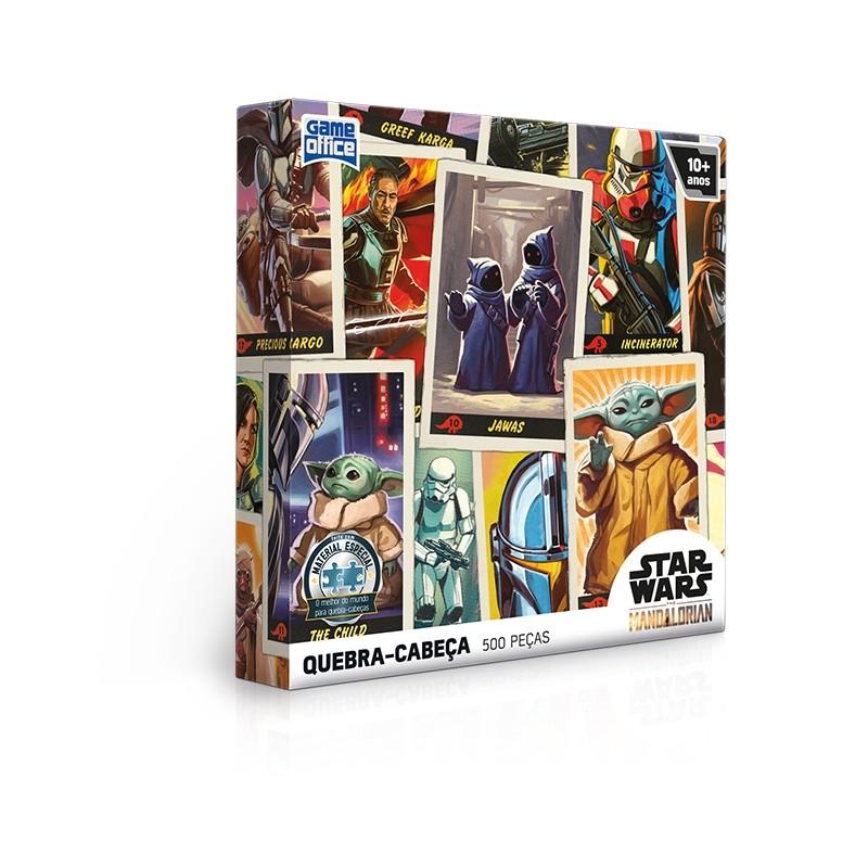 Quebra-cabeça Star Wars: The Mandalorian – 500 peças – Edição Especial