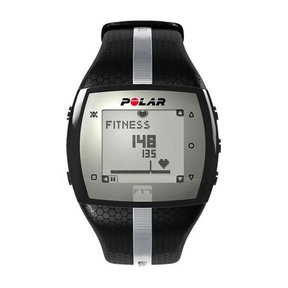 Relogio Polar Ft7 Monitor De Frequência Cardíaca - Preto/Prata