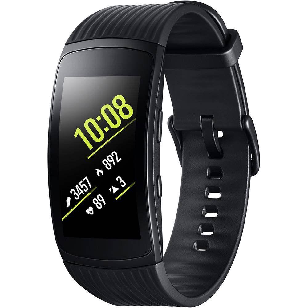 Smartwatch Samsung Gear Fit2 Pro Grafite (Pulseira G)