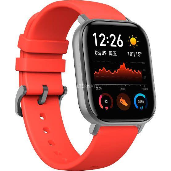 Smartwatch Xiaomi Amazfit GTS - Vermelho