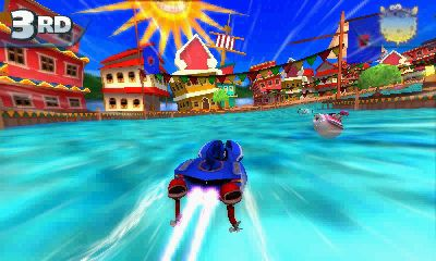 Sonic & All-Stars Racing Transformed - 3Ds
