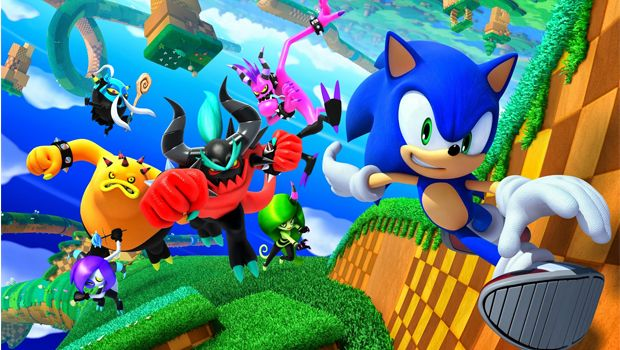 Sonic Lost World - Wii U