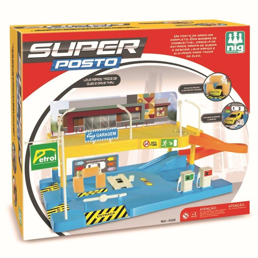 Super Posto de Gasolina - Nig Brinquedos