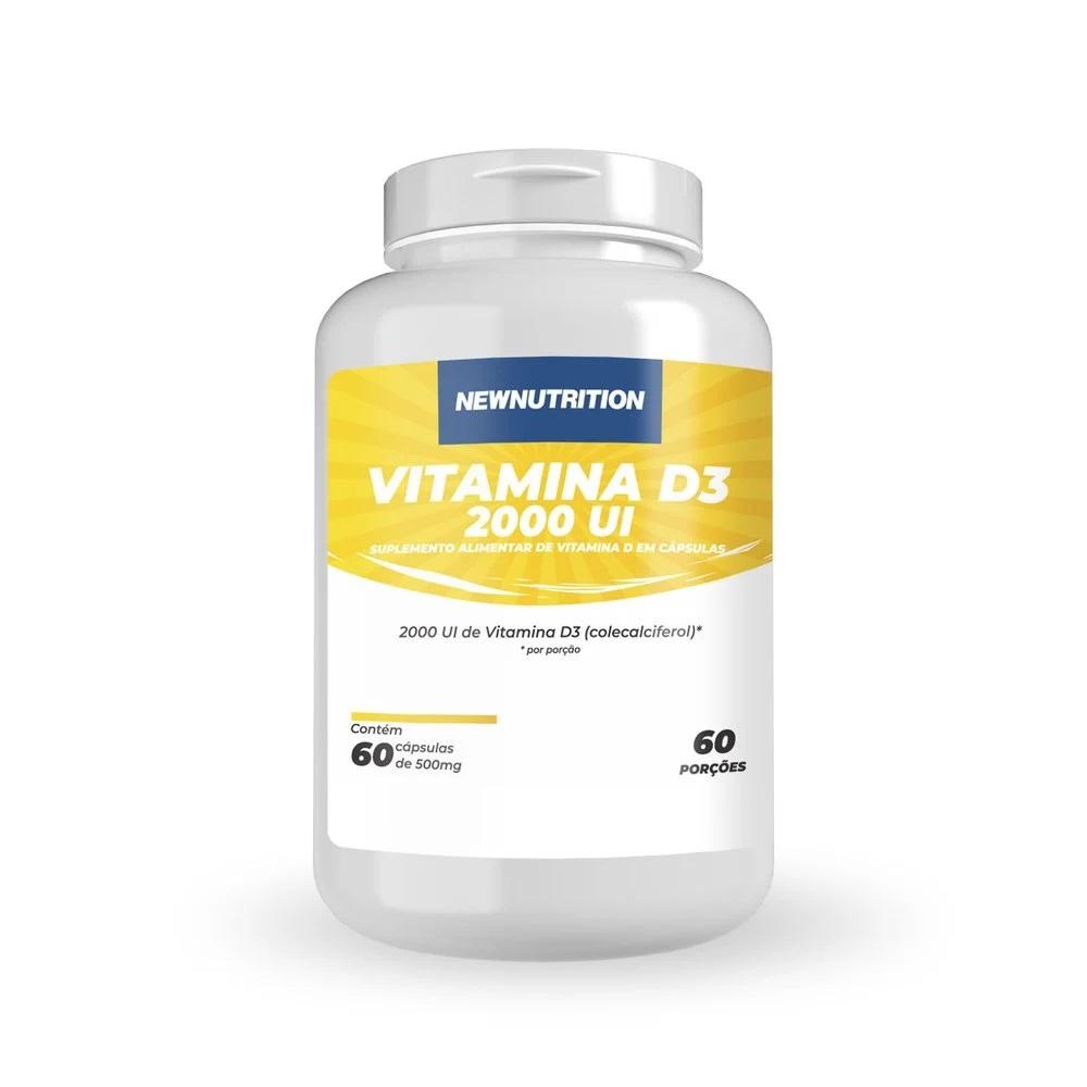 Vitamina D 2.000 UI - 60 cápsulas