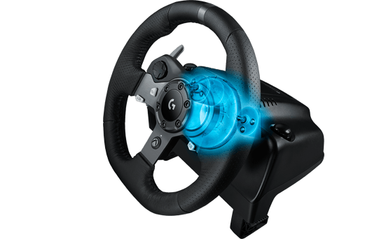 Volante Logitech G920 Driving Force Race Wheel - Xbox One / PC + Câmbio Logitech G Driving Force Shifter