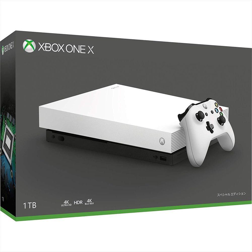 Xbox One X - 1 Terabyte Branco