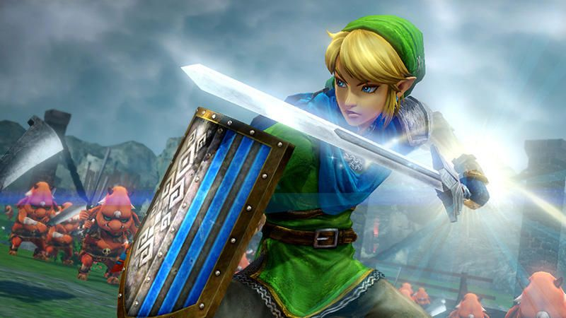 Zelda Hyrule Warriors - Wii U