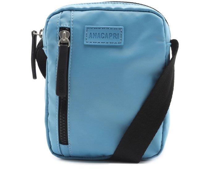 Bolsa Crossbody Azul Nylon Anacapri