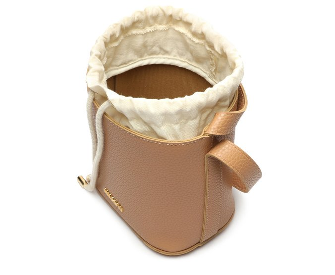 Bolsa Crossbody Bege Bucket Anacapri