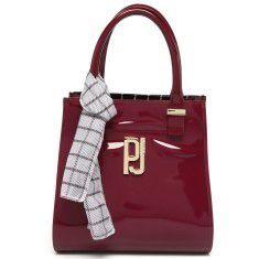 Bolsa Floder Bag com Lenço Xadrez Petite Jolie