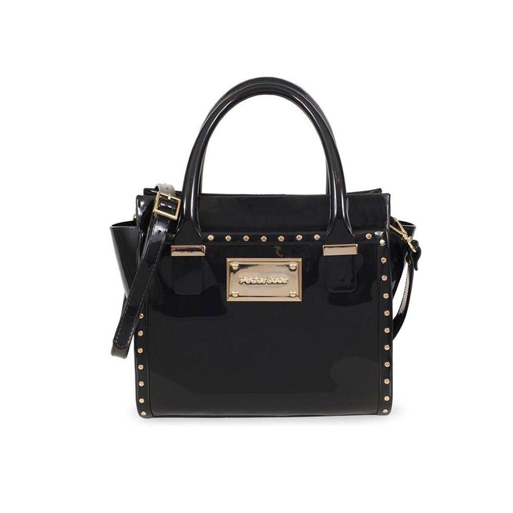 Bolsa Love Bag com Tachas Petite Jolie