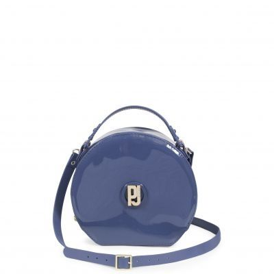 Bolsa Round Bag de Verniz Petite Jolie