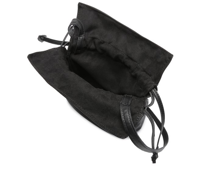 Bolsa Saco Retrô Preto Anacapri
