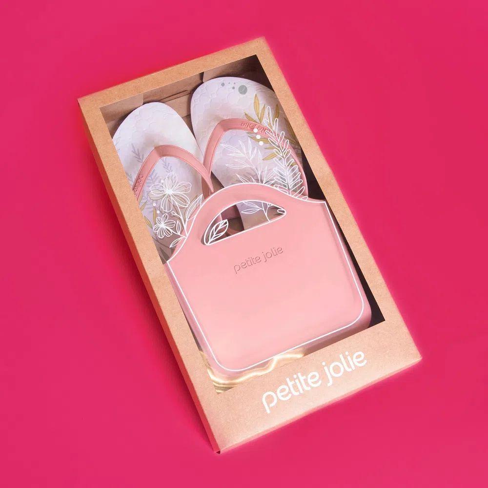 Kit Chinelo Petite Jolie Rosa PJ5087