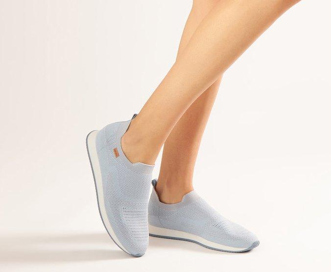 Tênis Azul Jeans Knit Anacapri