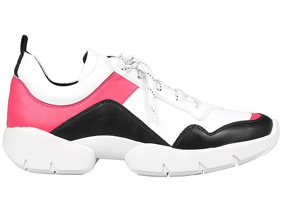 Tênis Chunky Sneaker Rosa com Preto Suza Santos