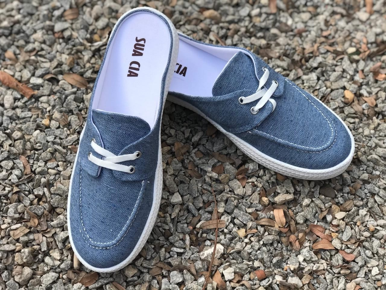 Tênis Mule Jeans Sua Cia