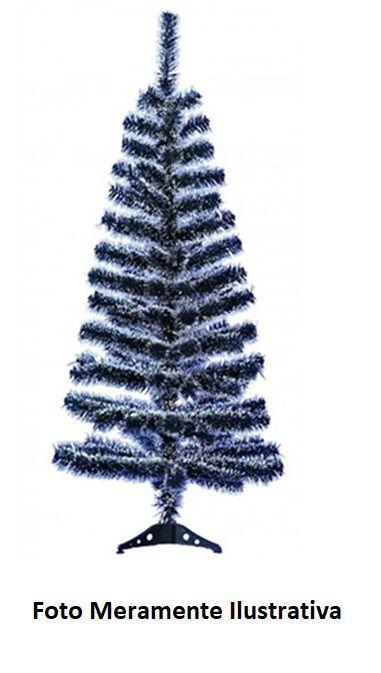 Árvore de Natal com Galhos Verde Cheios de Neve - 120 cm
