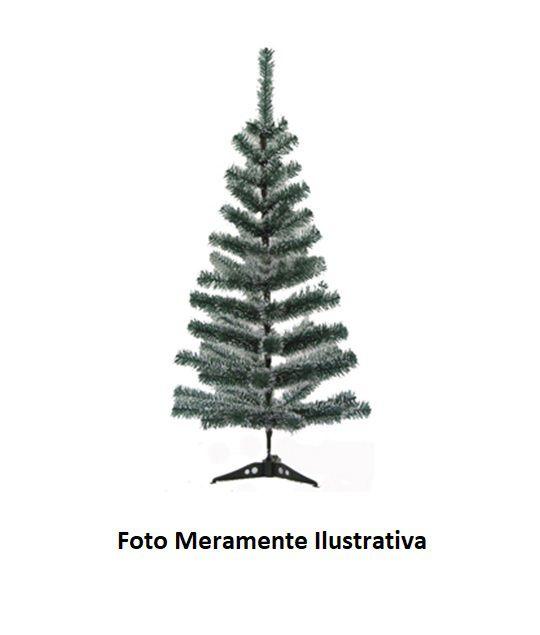 Árvore de Natal com Galhos Verde Cheios de Neve - 60 cm