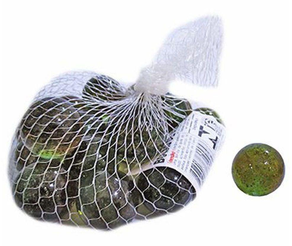 Bolinha Bolão de Vidro Bola de Gude Grande 3 cm Ø - Pacote com 20 Unidades