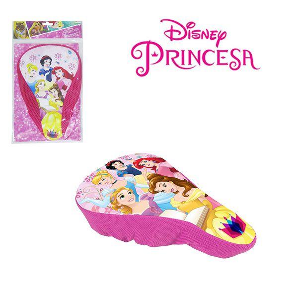 Capa para Banco de Bicicleta Bike Infantil Princesas Disney