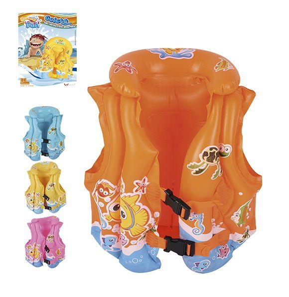 Colete Inflável Infantil Summer Fun - 40x38x18 cm