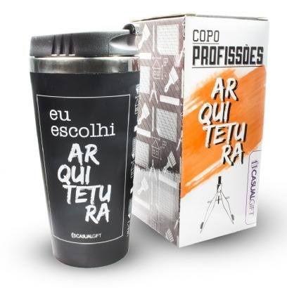 COPO EMBORRACHADO PROFISSÕES PERSONALIZADA 450ML - ARQUITETURA