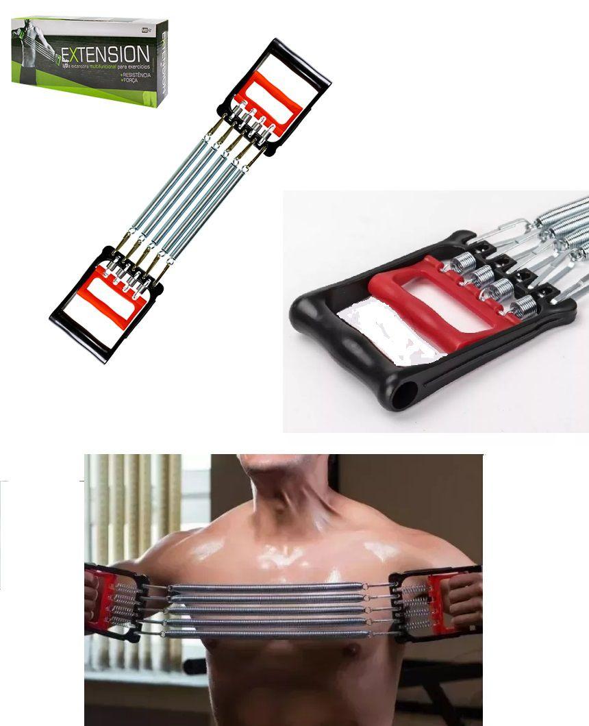 Mola Extensora Multifuncional para Exercícios de Ombro Tríceps Bíceps Antebraço