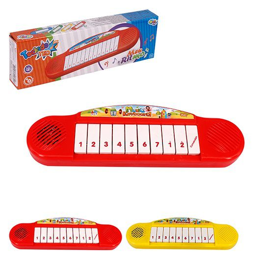 TECLADO PIANO MUSICAL INFANTIL TED