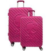 Kit Mala De Viagem / Escolar Barbie - Tam P E M